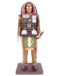 Indianer mit Spielautomat