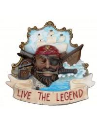 Live the Legend Schild