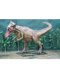 Dinosaurier Tyrannosaurus braun