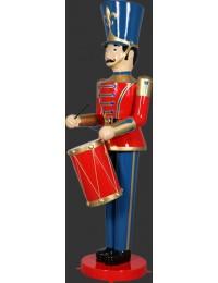 Nußknacker Soldat mit Trommel