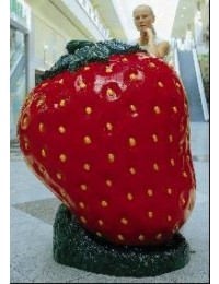 Erdbeere groß