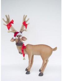 Rentier lustig weihnachtlich