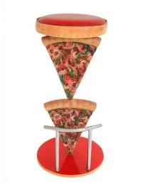 Pizzahocker 2 Pizzastücke