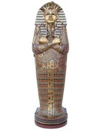 ägyptischer Sarkophag als Weinregal