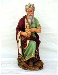 mittelgroßer hockender Melchior