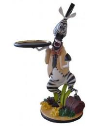 Zebra als Butler