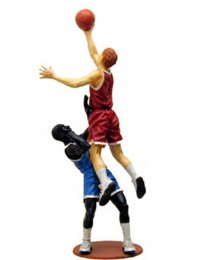 Zwei Basketballer