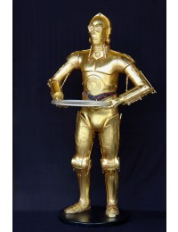 Android als Butler in Gold