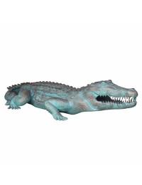 bronzefarbendes Krokodil