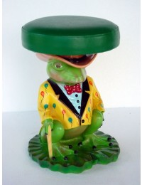 Kinderhocker Frosch