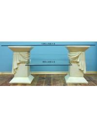 2 Säulen Regal