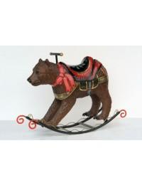 Schaukelpferd - Bär