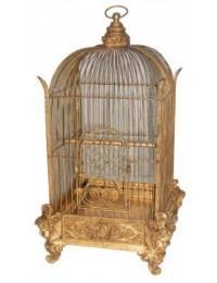Vogelkäfig Wintergarten Gold