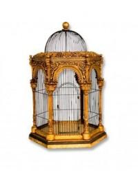 Vogelkäfig Mogul Gold
