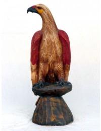 Adler sitzend groß
