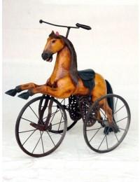 Pferd als Dreirad groß