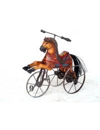 Pferd als Dreirad klein