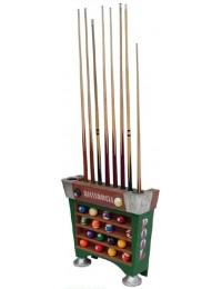 Billiardqueue - und Kugelhalter