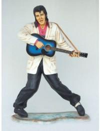 Elvisdouble mit Gitarre