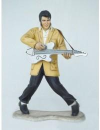 Elvisdouble klein mit Gitarre