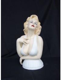 Marilyn Monroe Double Büste