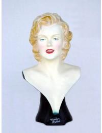 Marilyn Monroe Double Büste mit Unterschrift