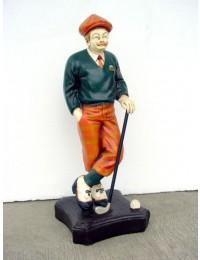 Old English Golfer