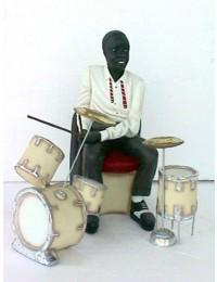 Jazz Schlagzeuger mittel