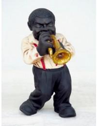 Lustiger Jazz Trompeter