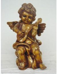 Engel stehend mit Gitarre