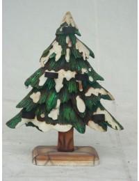 Tannenbaum mit Kerzenhalter klein