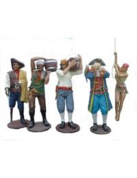 Piratengruppe 5 tlg.