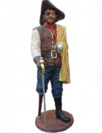 Pirat mit Umhang