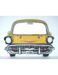 Taxi als Wandspiegel