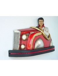 Autoscooter mit Elvis