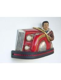 Autoscooter mit James Dean