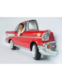 Große Chrysler Seitenansicht mit Elvis