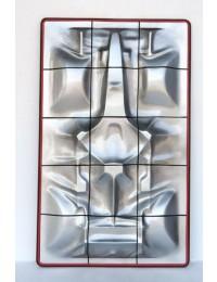 Kleines Formel 1 Wanddekor mit Neonbeleuchtung