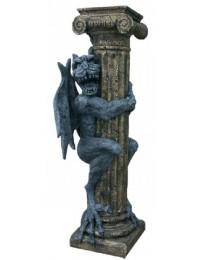 Säule mit Drachenfigur Gragol