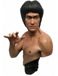 Bruce Lee Büste - Traditional Black Version 1/1