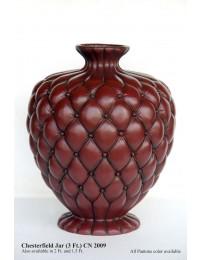Vase Chesterfield braun