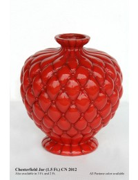 Vase Chesterfield rot
