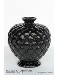 Vase Chesterfield schwarz