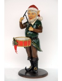 Weihnachtself mit Trommel