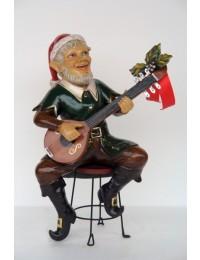Weihnachtself mit Gitarre