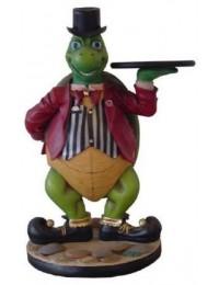 Schildkröte als Butler