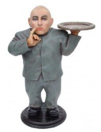 Dr. Evil Double mit Tablett