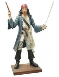 Pirat mit Säbel und Pistole