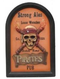 Piratenschild Pirate-Pub