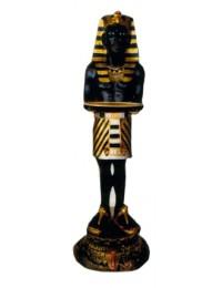 ägyptischer Butler mit Tablett farbig klein